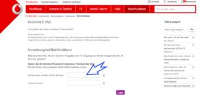 Vodafone.de Freemail Login Benutzername